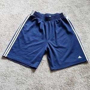 Adidas BBall 3 Stripe Mesh Shorts